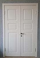 Двухстворчатая межкомнатная дверь на заказ