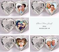 Новое поступление медальонов в серебре для фотографий на память! Сердечки разных видов и овалы.