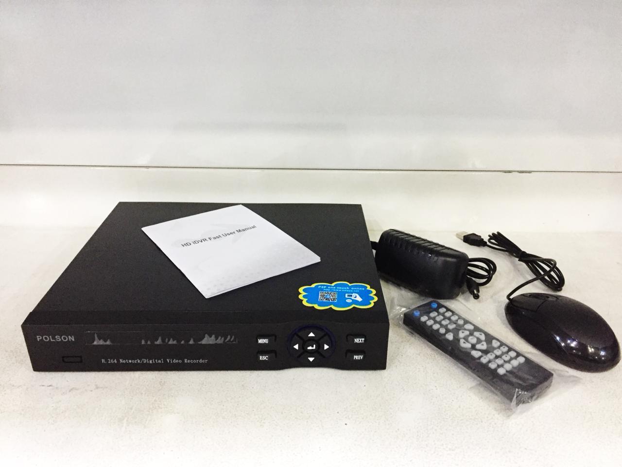 IP HD РЕГИСТРАТОР 8, 16, 24 канальный