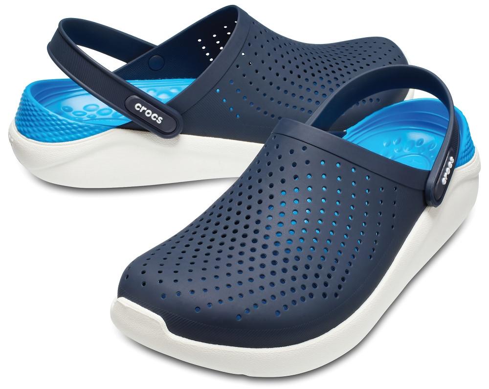 Сабо крокс Crocs LiteRide clog сине -голубой - фото 2