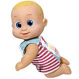 Кукла Баниэль ползущая, 16 см Bouncin' Babies, фото 2