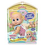 Кукла Баниэль ползущая, 16 см Bouncin' Babies, фото 3