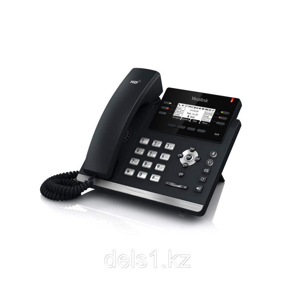 IP телефон Yealink SIP-T41P (без блока питания)