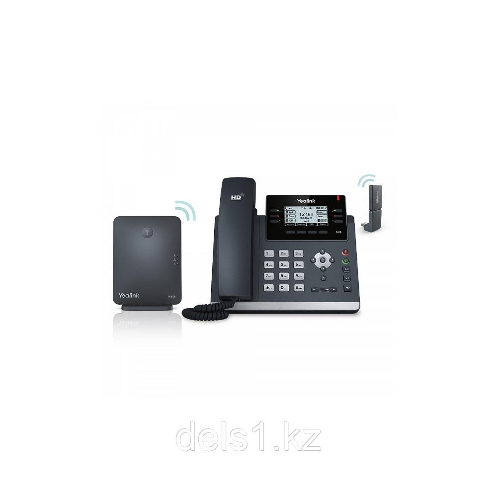 IP DECT телефон Yealink W41P. настольный телефон с поддержкой технологии DECT