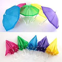 Мини детский зонт с кружевами, 50см