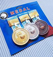 Медаль для воллейбола, рельефная