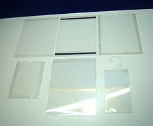 Карманы плоские (информационные) из пластика ПЭТ