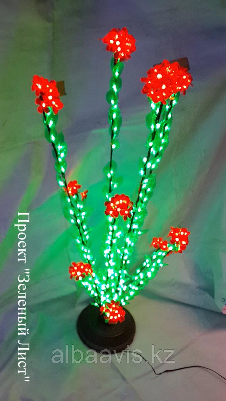 """Cветодиодное светодиодный """"Цветущий кустик"""" для оформления офиса, магазина, дворика"""