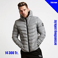 Зимняя куртка от VQ серая XL