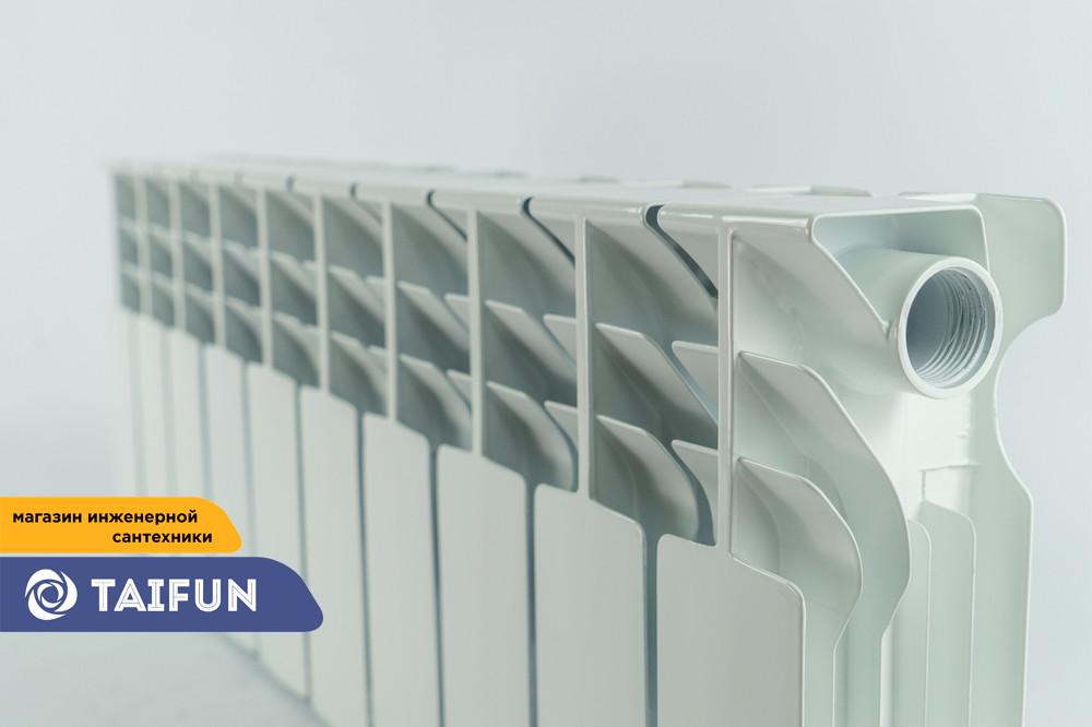 Алюминевый радиатор UNO-LOGANO 350/100 (1секция)