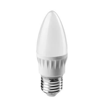 Лампа светодиодная PLED- ECO-C37 5Вт свеча 4000К