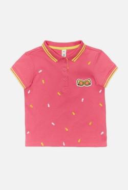 Футболка для девочки Pelevin розовый