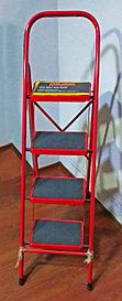 Лестница стремянка, стальная, 4 ступени BOLEMA