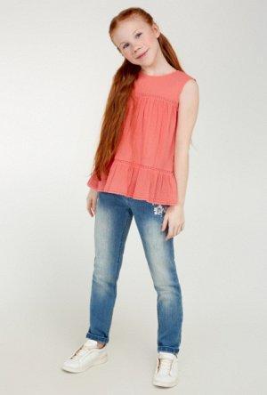 Блузка для девочки Dafna коралловый