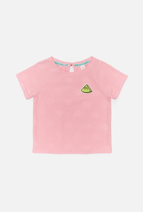 Футболка для девочек Henry розовый