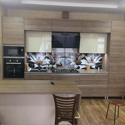 Кухня из ЛДСП и акрил, фото 2