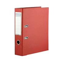 Папка регистратор Kuvert, А4, 75мм, ПВХ-ЕСО красный