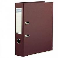 Папка регистратор Kuvert, А4, 75мм, ПВХ-ЕСО бордовый
