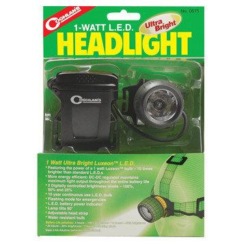 Фонарь наголовный COGHLANS Ultra Bright Led Head Light