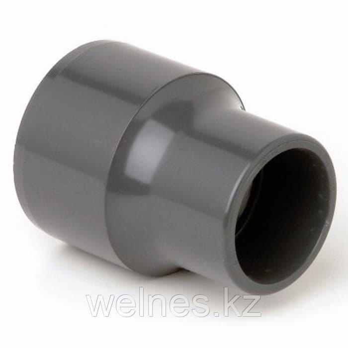 Переход муфтовый PVC (63х50 мм)