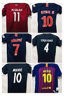 Форма футбольная с именами игроков подростковая