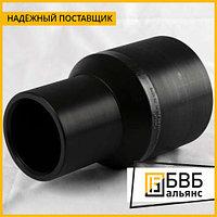 Переходник ПЭ 125х110 SDR 11 (литой)