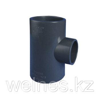 Тройник переходной PVC (63х50х63 мм)