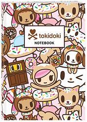 """Творческий блокнот """"Токидоки: Пончик"""""""