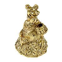 Колокольчик Медведь с бочкой меда Н=60