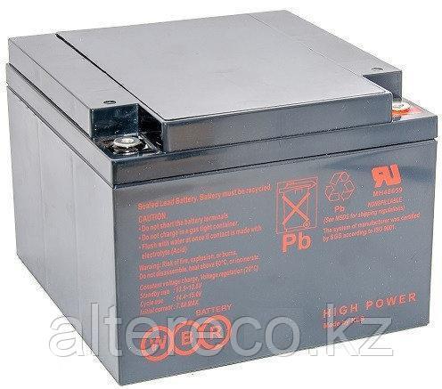 Аккумулятор для электрической коляски WBR GPL12280 (12В, 28Ач), фото 2
