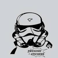 Наклейка Star Wars Штурмовик