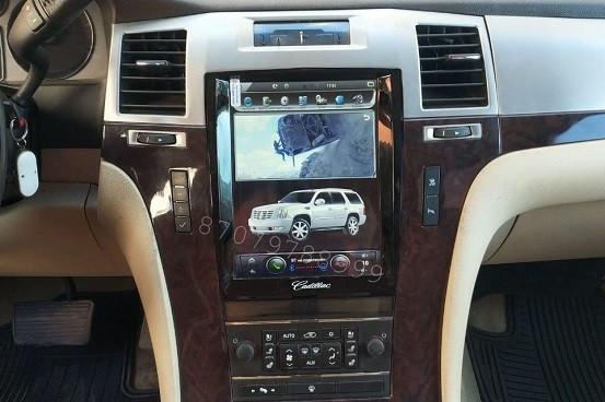 Автомагнитола Cadillac Escalade Android в стиле Tesla