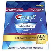 Crest 3D Glamorous White 28 полосок на 14 применений (Отбеливающие полоски) США