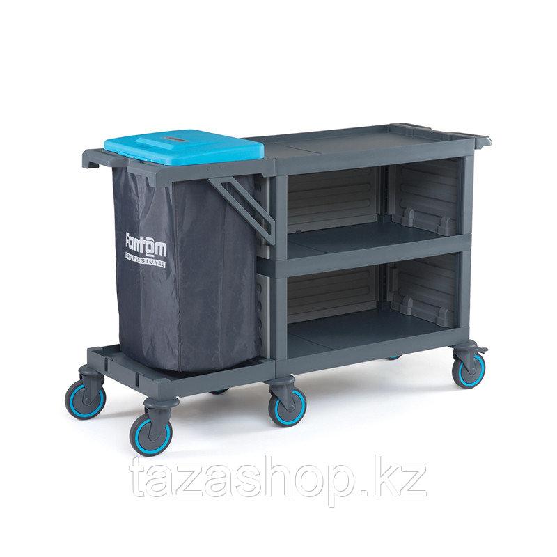 Сервисная тележка с баком для мусора PROCART 222