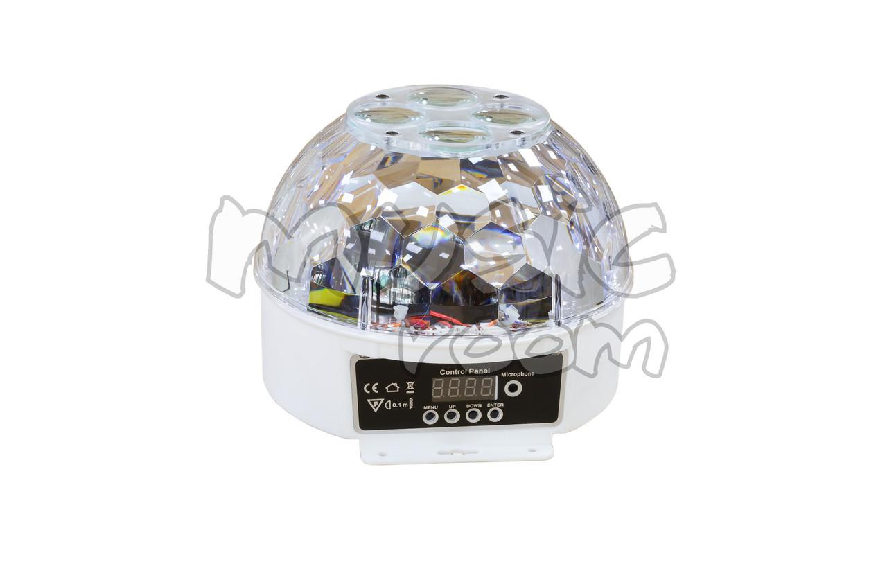 Светодиодный LED диско шар Flower magic ball light