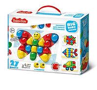 Мозаика для самых маленьких 27 элементов, 4 цвета