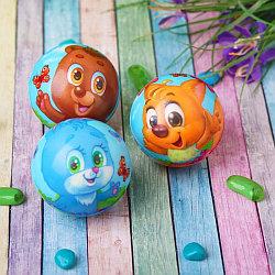 """Мягкий мяч """"Лесные друзья"""", 6,3 см"""