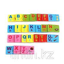 Деревянные пазлы - Английский алфавит, фото 2