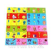 Деревянные пазлы - Английский алфавит, фото 3