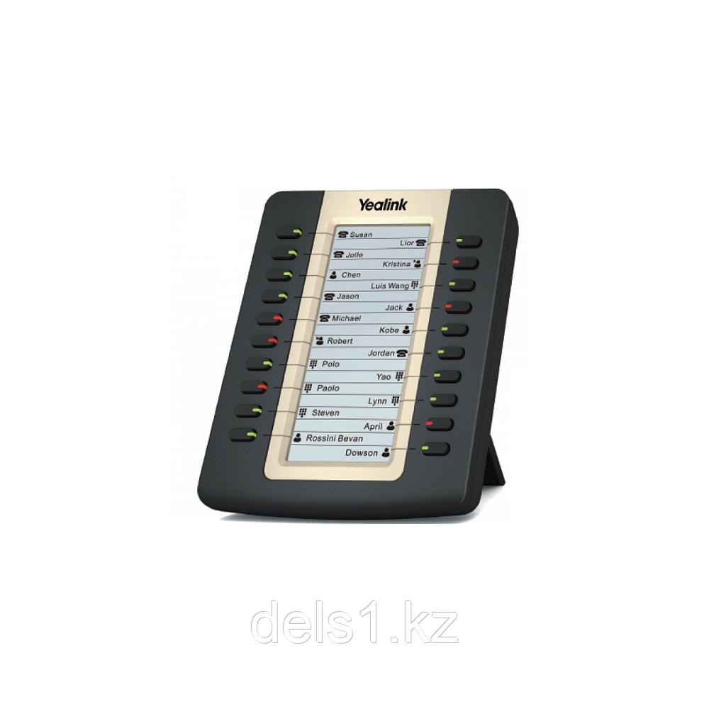 Модуль расширения c LCD-дисплеем Yealink EXP20 совместимый c SIP-T27P, SIP-T27G и SIP-T29G