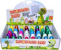 1440 Яйца динозавр цветные растут в воде из 40 шт 6*3 цена за упаковку
