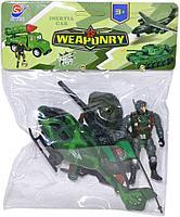 8668-3 Военный набор с вертолетом Wearonry InteriaCar 23*18
