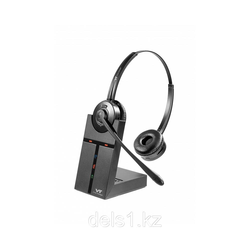 Vbet VT9000-D Беспроводная бинауральная DECT-гарнитура с HD-звуком.