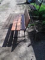 Скамейки со спинкой классика 150 см