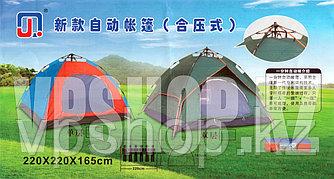 Шестиместная практичная туристическая палатка 200х200х145, доставка