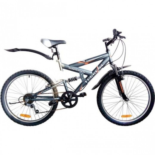 Велосипед Torrent Adrenalin матовый-серый