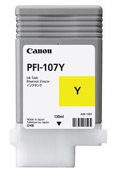 Тонер Canon PFI 107 Yellow (130 ml)(6708B001AA)