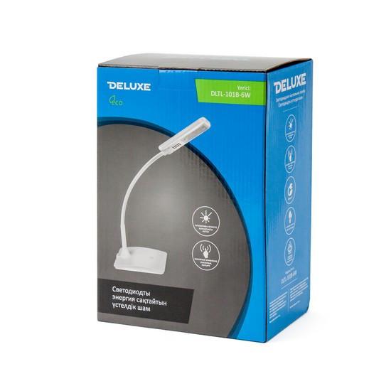 Лампа настольная Deluxe DLTL-101B-6W, Регулировка яркости: 3 степени яркости, Цветовая температура: 6400К, Цве