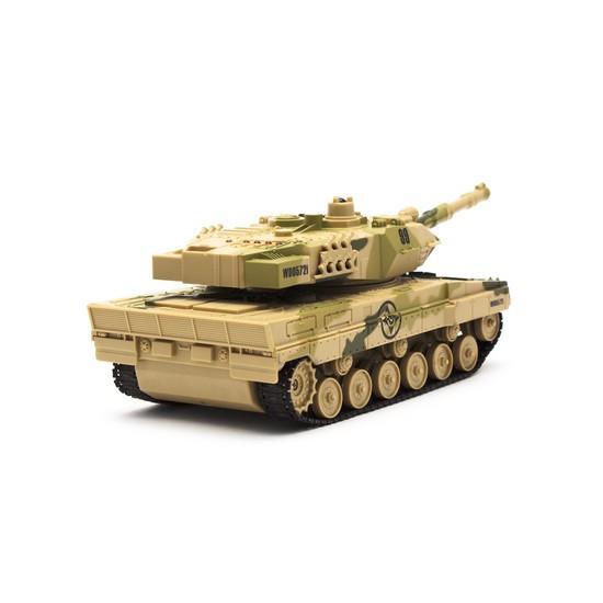 Радиоуправляемая модель танк Rastar M1 Abrams, Управление: iOS, Android, Материал: Пластик, Цвет: Зелёный, (WD