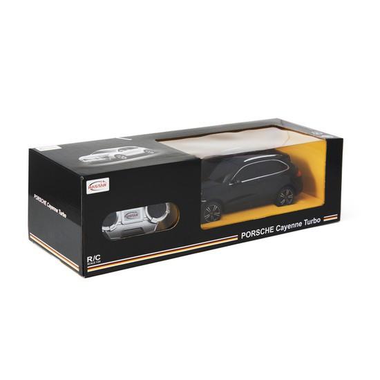 Радиоуправляемая модель автомобиль Rastar Porsche Cayenne Turbo, 1:24, Управление: Джойстик, Материал: Пластик